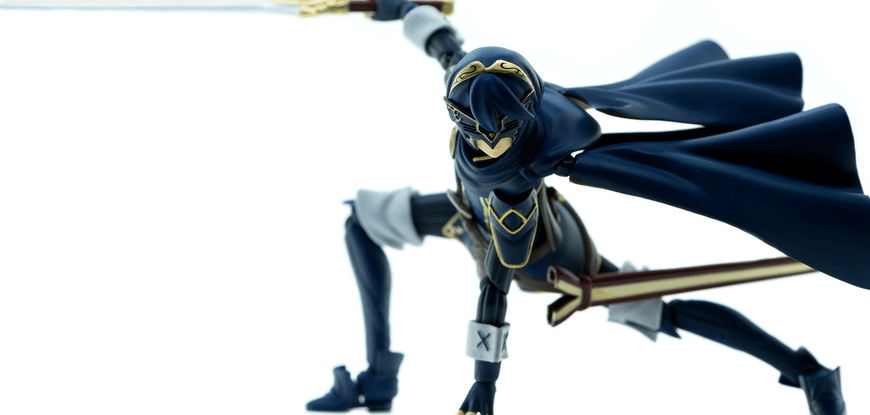 Max Factory, the company that generally makes these Figma figures, usually have very high-quality in their figures. Lucina is no exception. The attention to detail is beyond ridiculous. Her sword strap feels like a real strap, as it's loose and able to be moved. Her paint job is crisp and clear. You won't see paint overlapping like a lot of other low-quality figures.