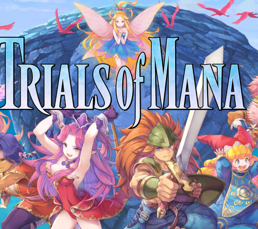 Trials of Mana will come to the Nintendo Switch, PlayStation 4, and PC via Steam worldwide on April 24, 2020. Collection of Mana is available immediately worldwide on Nintendo Switch, containing the first three titles in the Mana series.