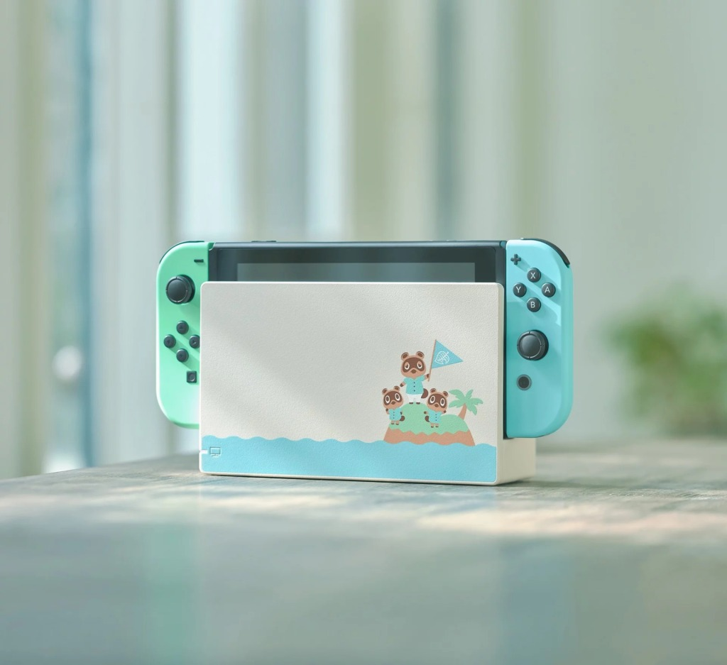 Animal Crossing: New Horizons inspired Nintendo Switch