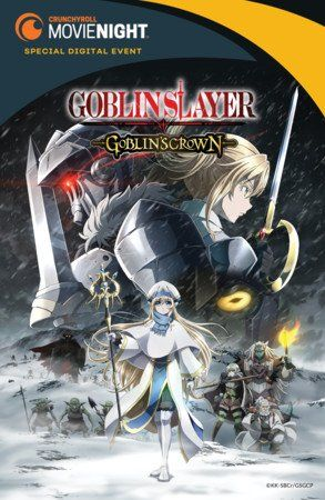 Crunchyroll anuncia o filme Goblin Slayer: Goblin´s Crown.