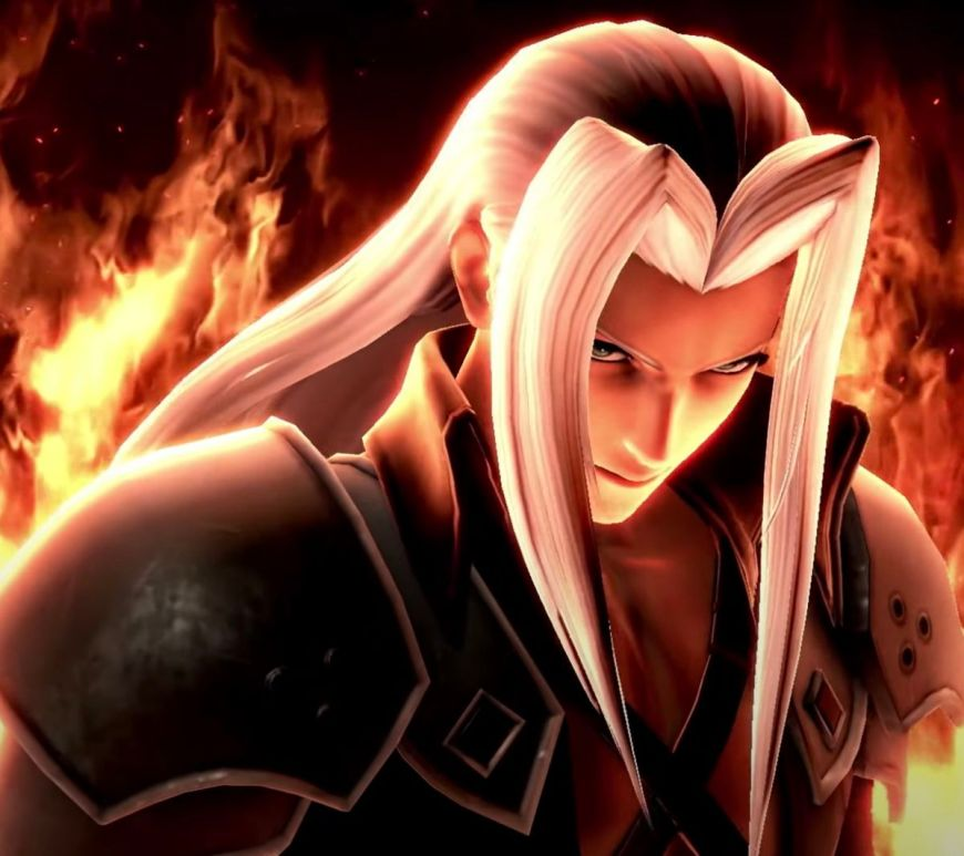Sephiroth Is Coming To Smash!