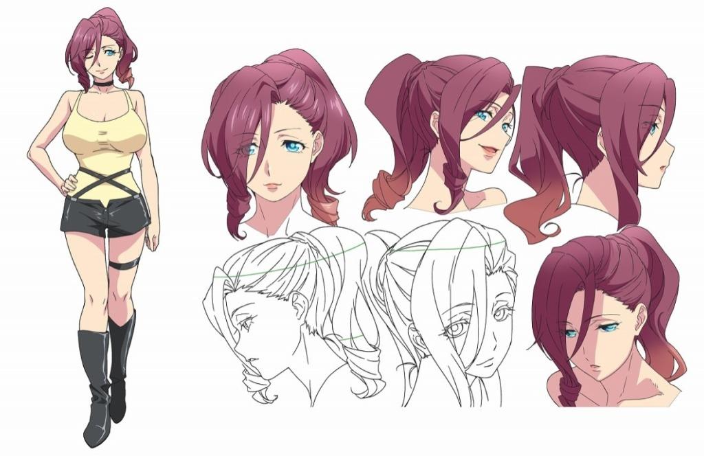 Staff and Cast announced for World's End Harem Anime Adaptation Haruka Shiraishi as Mira Suō Yō Taichi as Akane Ryūzōji