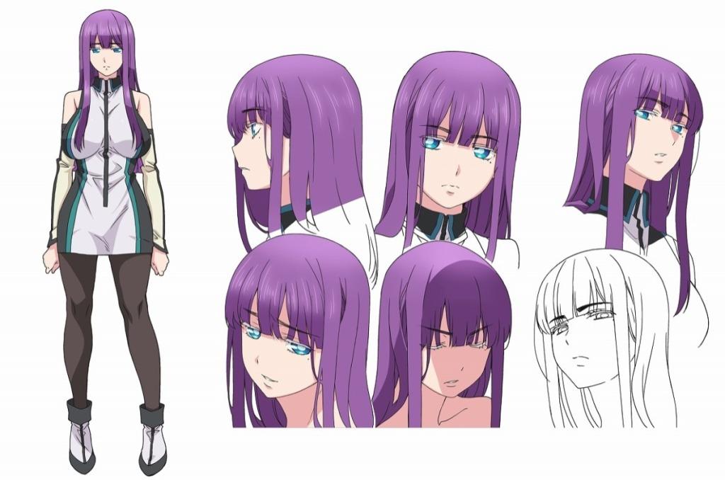 Staff and Cast announced for World's End Harem Anime Adaptation Haruka Shiraishi as Mira Suō